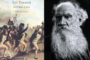 Lev Tolstoi và tác phẩm Chiến Tranh và Hòa Bình. Source livredepoche