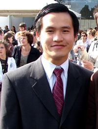 Nhà dân chủ Nguyễn Tiến Trung, hiện đang bị chính quyền VN giam giữ. RFA File Photo.