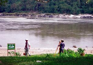 Sông Irrawaddy của Miến Điện, nơi dự định xây dựng Đập thủy điện Myitsone. Courtesy BurmaRiversNetwork/KDNG.