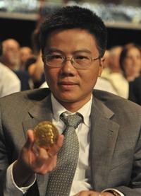 Giáo sư Ngô Bảo Châu. AFP photo