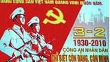 Bich chương của Đảng cộng sản tràn ngập đường phố