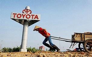 Đổ đất làm đường (ảnh minh họa) AFP