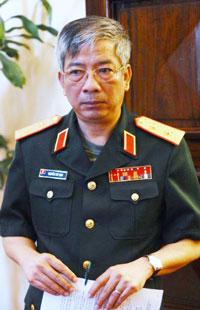 Trung tướng Nguyễn Chí Vịnh, thứ trưởng Bộ Quốc Phòng Việt Nam. AFP