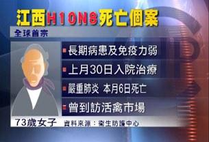 Truyền hình Trung Quốc đưa tin trường hợp tử vong đầu tiên vì cúm gia cầm H10N8