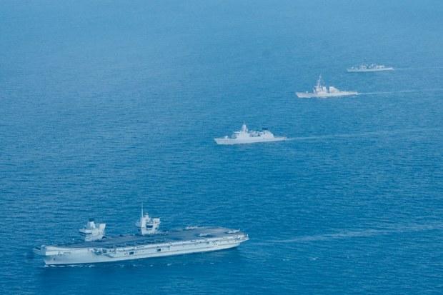 Nhóm tác chiến tàu sân bay Queen Elizabeth của Hải quân Hoàng gia Anh