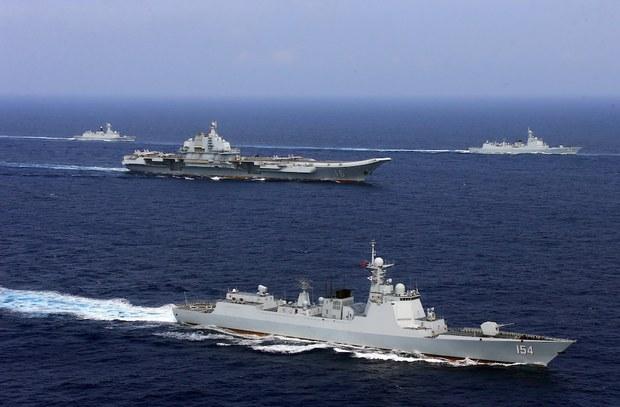 Trung Quốc tập trận bắn đạn thật ở Tây Thái Bình Dương