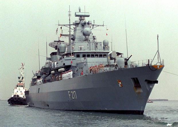 Trung Quốc từ chối cho tàu chiến Đức cập cảng