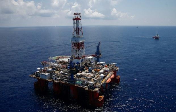 Tàu Trung Quốc tiến hành khoan tìm nghiên cứu lòng biển ở Biển Đông