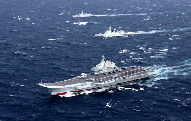 Trung Quốc đưa tàu khu trục có tên lửa dẫn đường vào tập trận ở Biển Đông