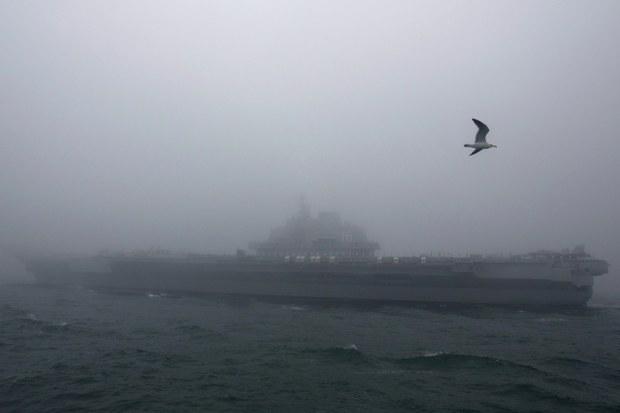 Nhóm tác chiến tàu sân bay Sơn Đông của Trung Quốc tập trận ở Biển Đông