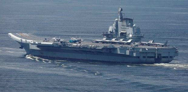 Tàu sân bay Sơn Đông của Trung Quốc chuẩn bị các cuộc tập trận xa bờ