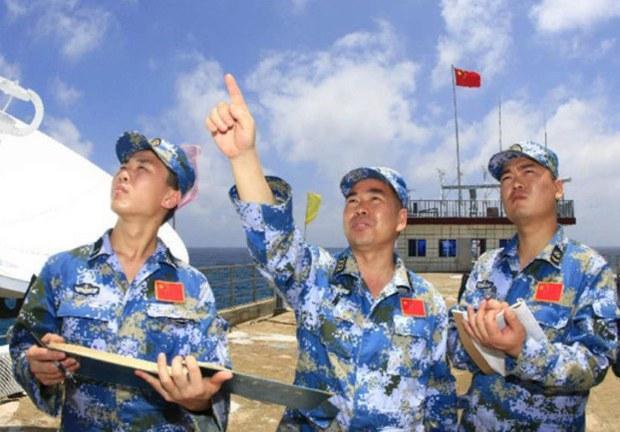 Hải quân Trung Quốc thu hoạch dữ liệu từ Biển Đông