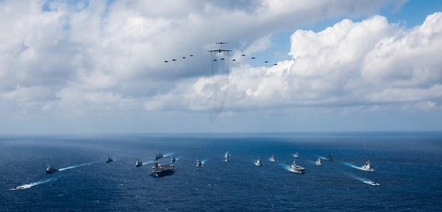 Hải quân của 21 quốc gia bắt đầu cuộc tập trận do Mỹ dẫn đầu ở Đông Nam Á