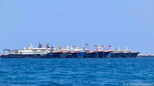 Philippines: 220 tàu cá Trung Quốc xuất hiện tại Trường Sa