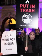 Hằng chục ngàn người tại Matxcova xuống đường phản đối kết quả bầu cử