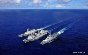 Hạm đội Trung Quốc trên đường đến Guam tham dự tập trận RIMPAC của Mỹ