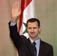 Tổng thống Syria Bashar al Assad. Photo courtesy of Wikipedia.