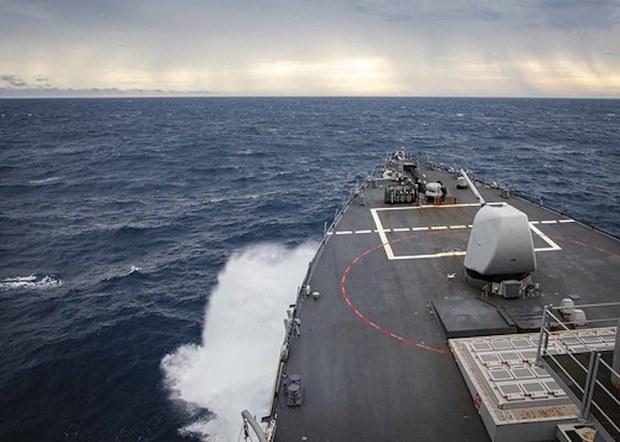 Tàu chiến Hải quân Hoa Kỳ đi vào khu vực quần đảo Trường Sa