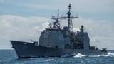 Tàu tuần dương USS Antietam (CG 54) tại Biển Đông hôm 6/3/2016. Ảnh minh họa.