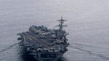 Nhóm tác chiến tàu sân bay Mỹ USS Theodore Roosevelt trở lại Biển Đông