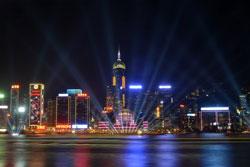 Đêm giao thừa 31-12-2012 tại Hồng Kông. AFP photo.