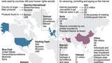 """Phúc trình của RSF về tình trạng đàn áp các tiếng nói trên mạng tại 5 quốc gia """"Kẻ thù của Internet"""" là Trung Quốc, Việt Nam, Syria, Iran, Bahrain."""