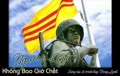 Bài hát Người lính không bao giờ chết của ca nhạc sĩ Dzuy Lynh