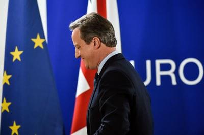 Thủ tướng Anh David Cameron tại Brussels, Bỉ hôm 28/06/2016. PHILIPPE HUGUEN / AFP.