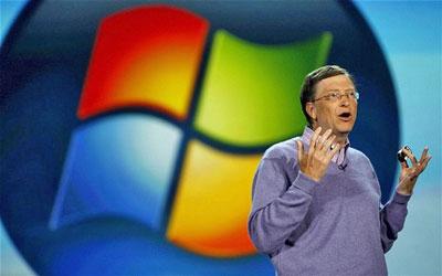 Tập đoàn phần mềm lớn nhất thế giới Microsoft của ông Bill Gates