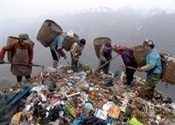 Người nghèo ở Trung Quốc. AFP photo