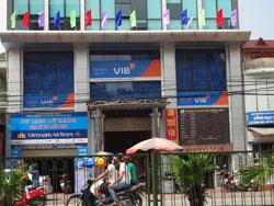 Ngân hàng Quốc tế VIB tại Hà Nội. RFA photo