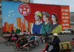 Ảnh chụp tại Hà Nội hôm 24/03/2014. AFP PHOTO.
