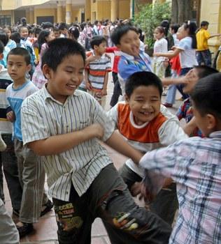 Ảnh minh họa: trẻ em Việt Nam