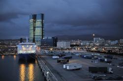 Cảng Marseille hôm 16/3/2011, ảnh minh họa. AFP