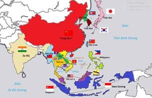 Bản đồ khu vực Đông Nam Á