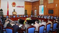Thủ tướng Nguyễn Tấn Dũng họp với UBND huyện Tiên Lãng về vụ Đoàn Văn Vươn. Photo courtesy of eyedrd.org