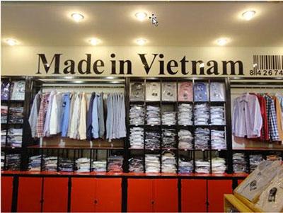 Áo sơ mi Made in Vietnam