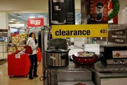 Bán hàng giảm giá vào dịp lễ Thanksgiving 2011 ở Mỹ, ảnh minh họa. AFP