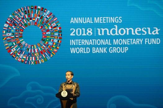 Cuộc họp thường niên của IMF và World Bank tại Indonesia.