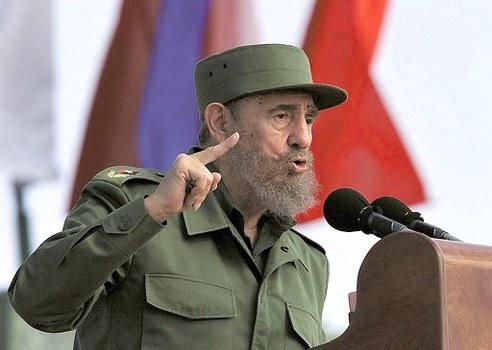 Nguyên lãnh tụ của Cộng hòa Cuba, ông Fidel Castro. Ảnh chụp năm 2001.