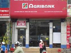 Ngân Hàng Nông Nghiệp Agribank, một ngân hàng quốc doanh. Ảnh minh họa. RFA photo