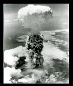 Hình ảnh một vụ thử nghiệm bom nguyên tử. RFA screen capture