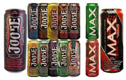 Các sản phẩm Joose và Max của công ty United Brands. Photo courtesy of FDA.