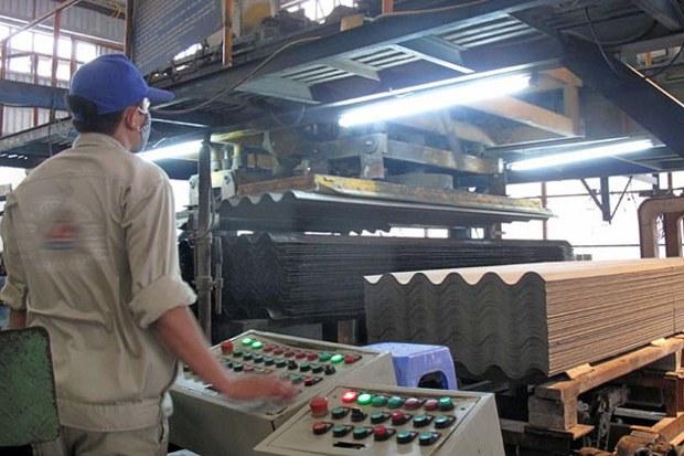 Amiăng được sử dụng làm nguyên liệu sản xuất tấm lợp
