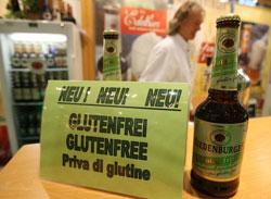 Một loại beer Gluten-free (không chứa gluten) được bày bán ở Berlin - Đức, ảnh minh họa chụp trước đây. AFP PHOTO.