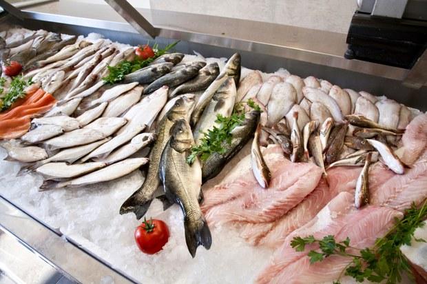 Ảnh minh họa, một số cá biển bán trong các chợ.