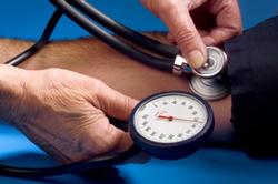 Kiểm soát huyết áp ổn định là một cách chăm sóc sức khỏe tinh thần. AFP photo