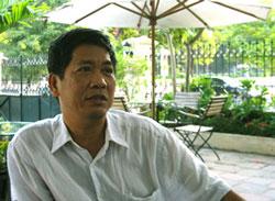 Nhà văn Nguyễn Đình Chính. Photo courtesy of VTC.VN.
