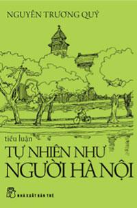 """Bìa sách """"Tự nhiên như người Hà Nội"""""""