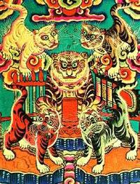 Tranh Ngũ Hổ